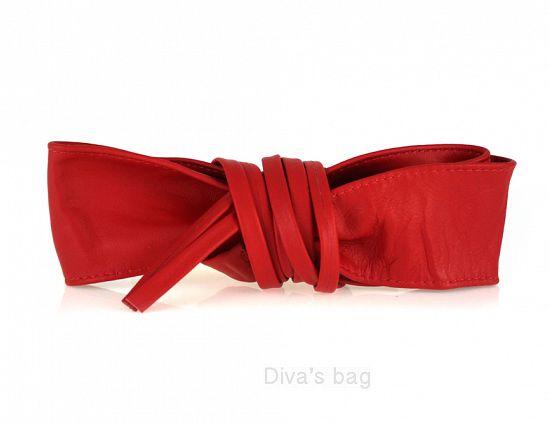 estetica di lusso vasta gamma di di modo attraente Elena - Cintura Fusciacca donna in Vera Pelle